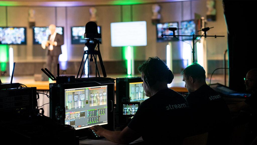Livestream Regie Universität
